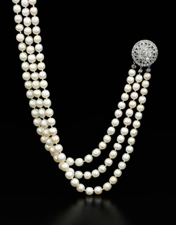 Marie Antoinette Pearl Necklace