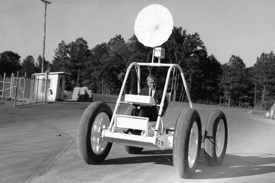 Nasa Lunar Roving Vehicle