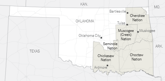 New Oklahoma Map
