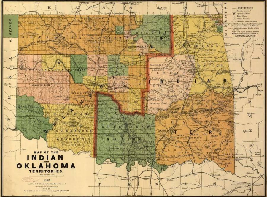 Oklahoma Indian Territories