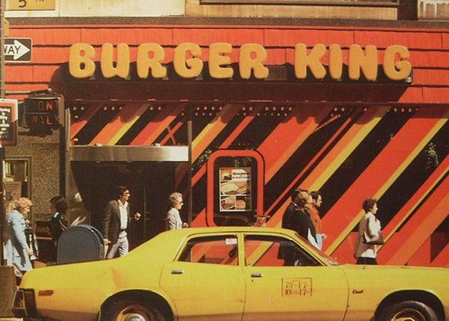 Orange Burger King