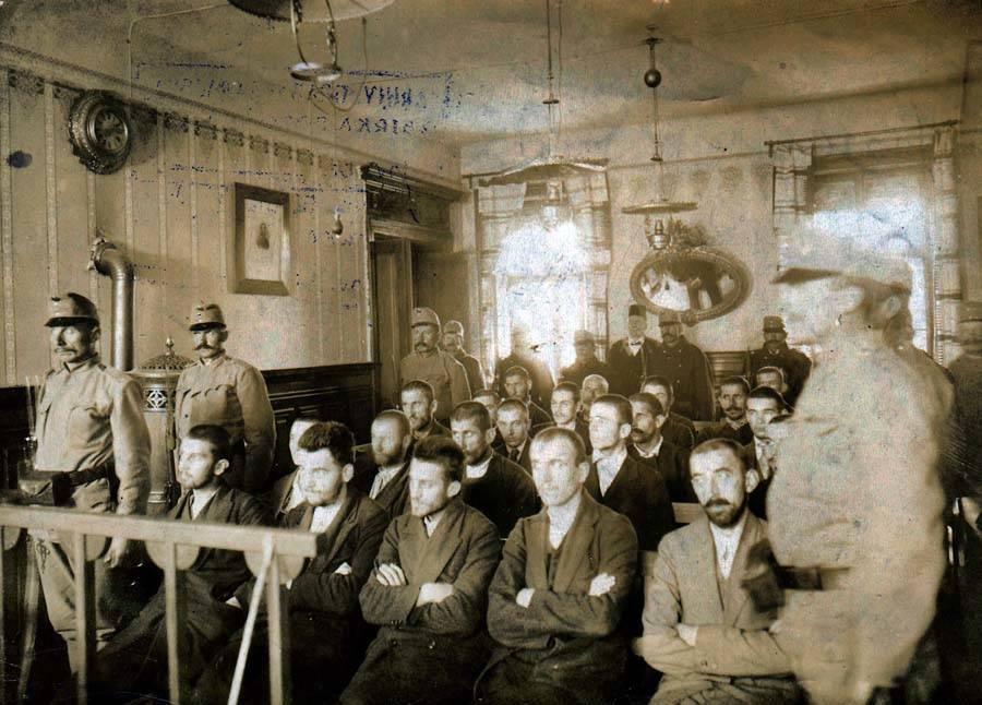 Gavrilo Princip Trial