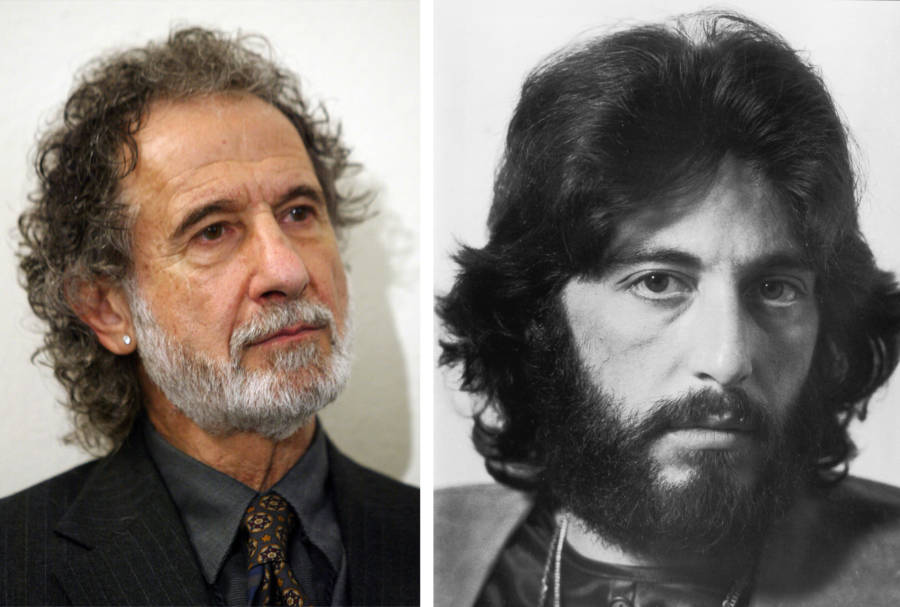 Frank Serpico And Al Pacino Side By Side