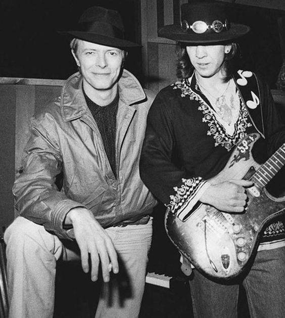 Stevie Ray Vaughan And David Bowie