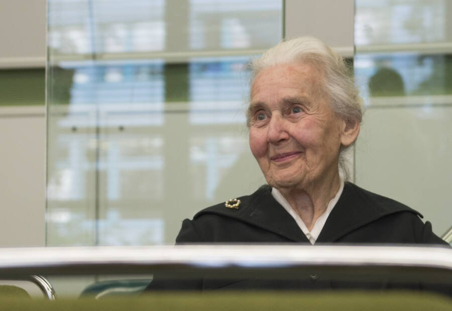 Ursula Haverbeck At Trial