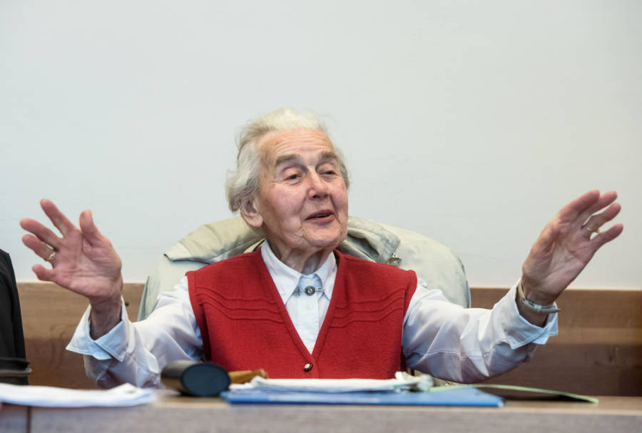 Ursula Haverbeck In Court