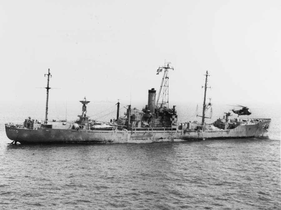 Uss Liberty Day After Attack