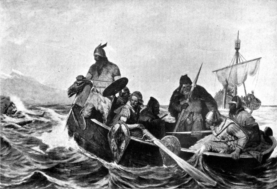 Vikings Sailing