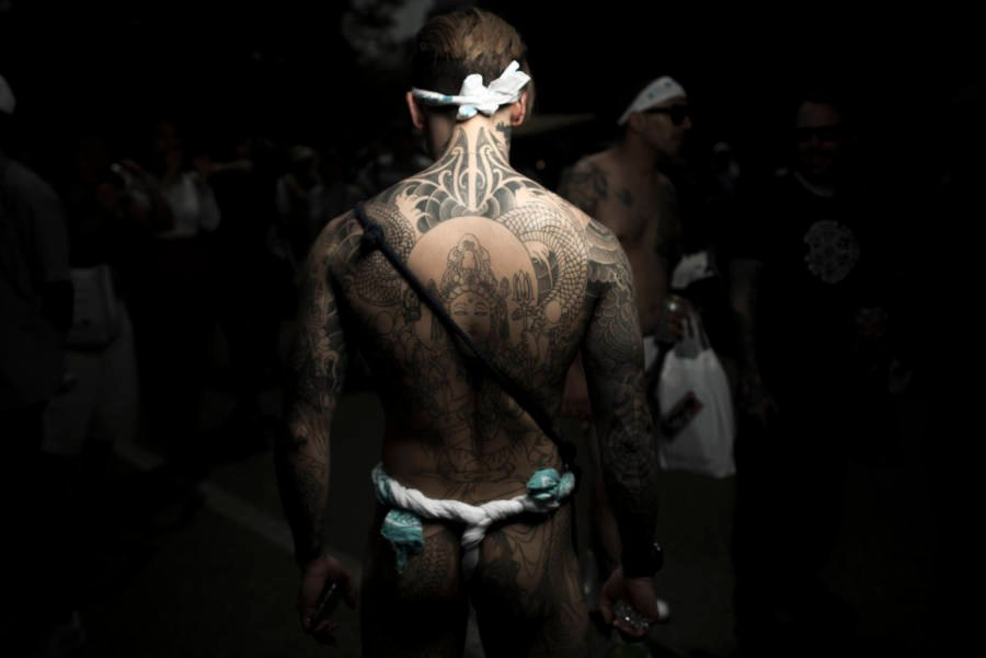 Yakuza Back Tattoos