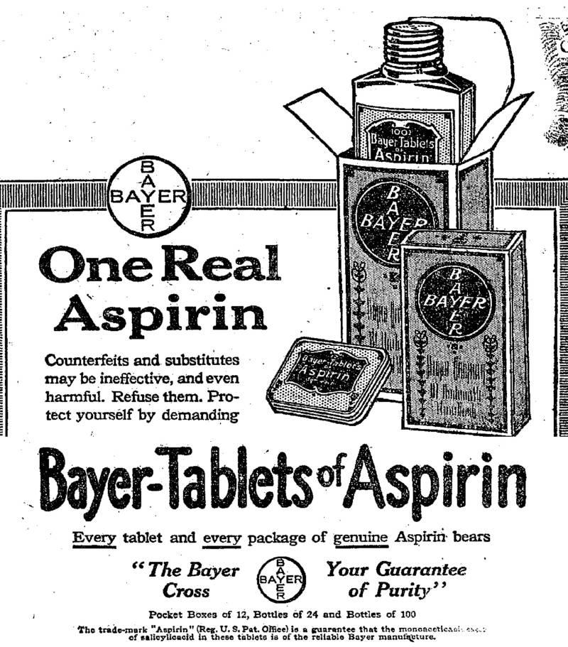 Bayer Aspirin Ad