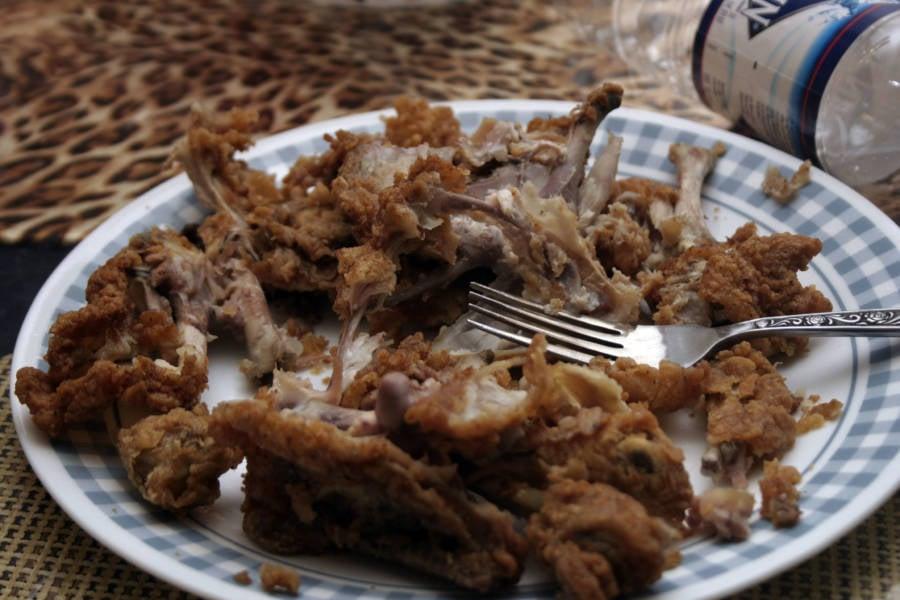 Fried Chicken Bones