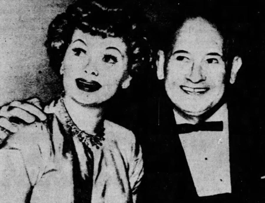 Harry Parke And Lucille Ball