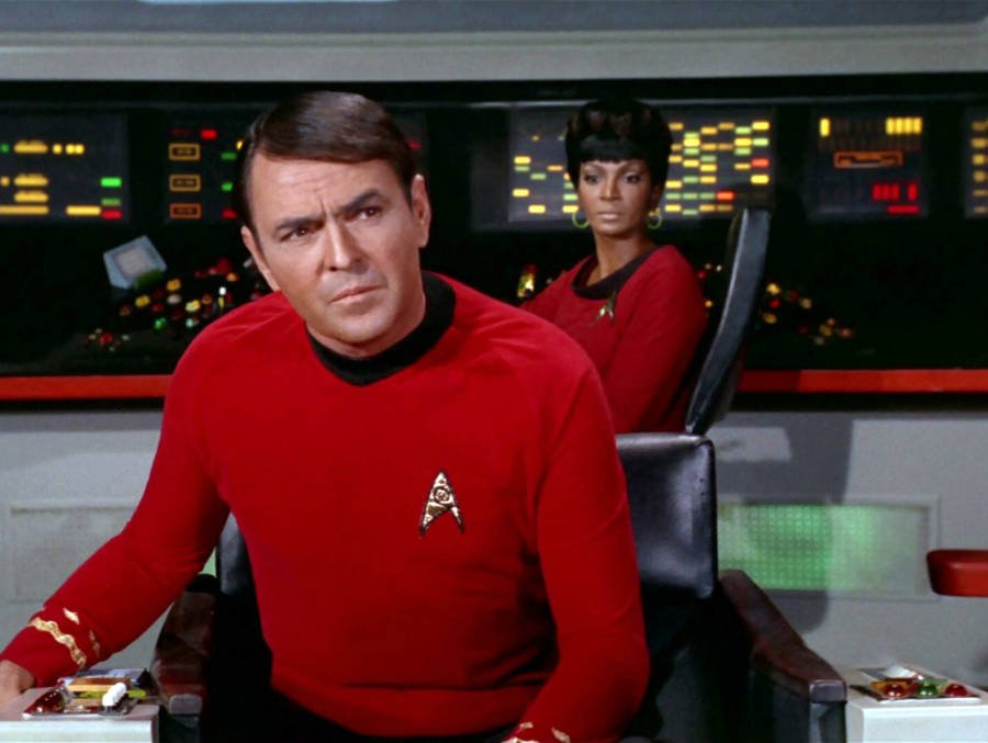 Scotty On Star Trek