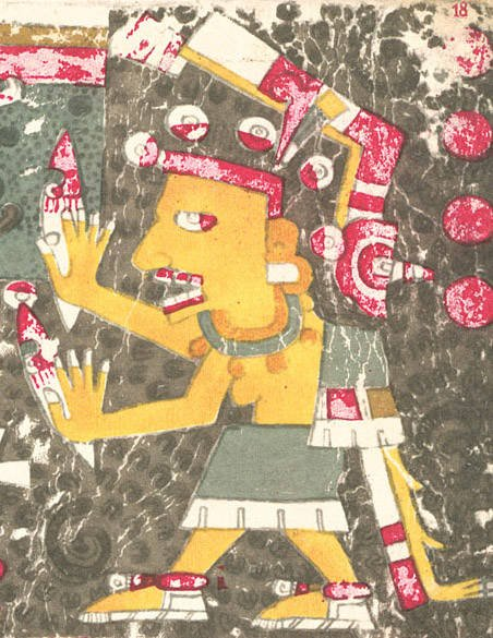 Mictlancihuatl, Aztec Goddess Of Death