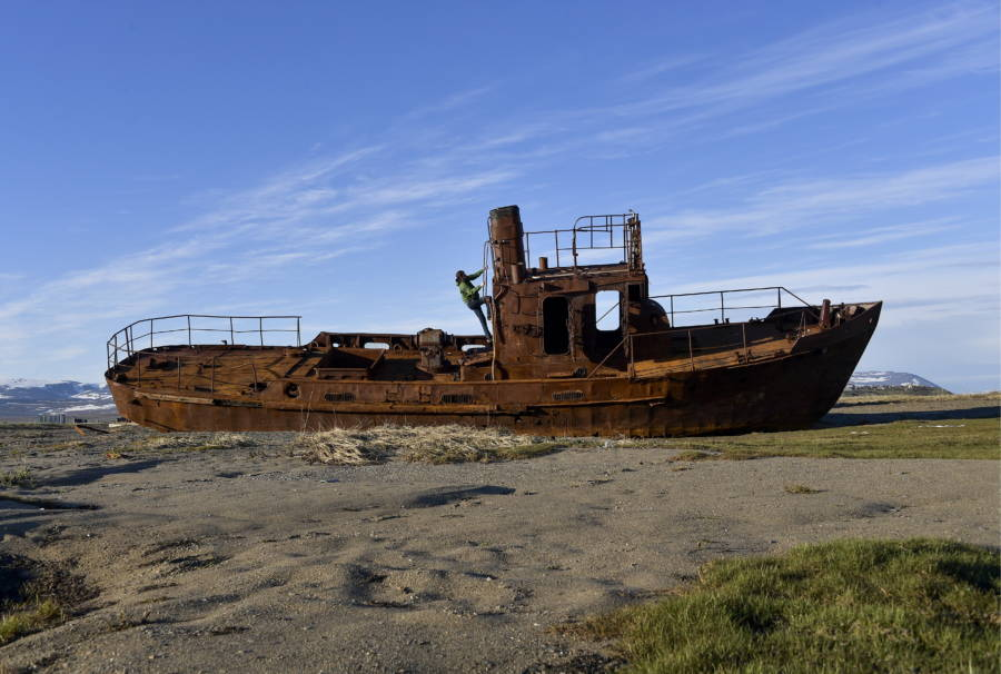 Abandoned Ghost Ship In Japan