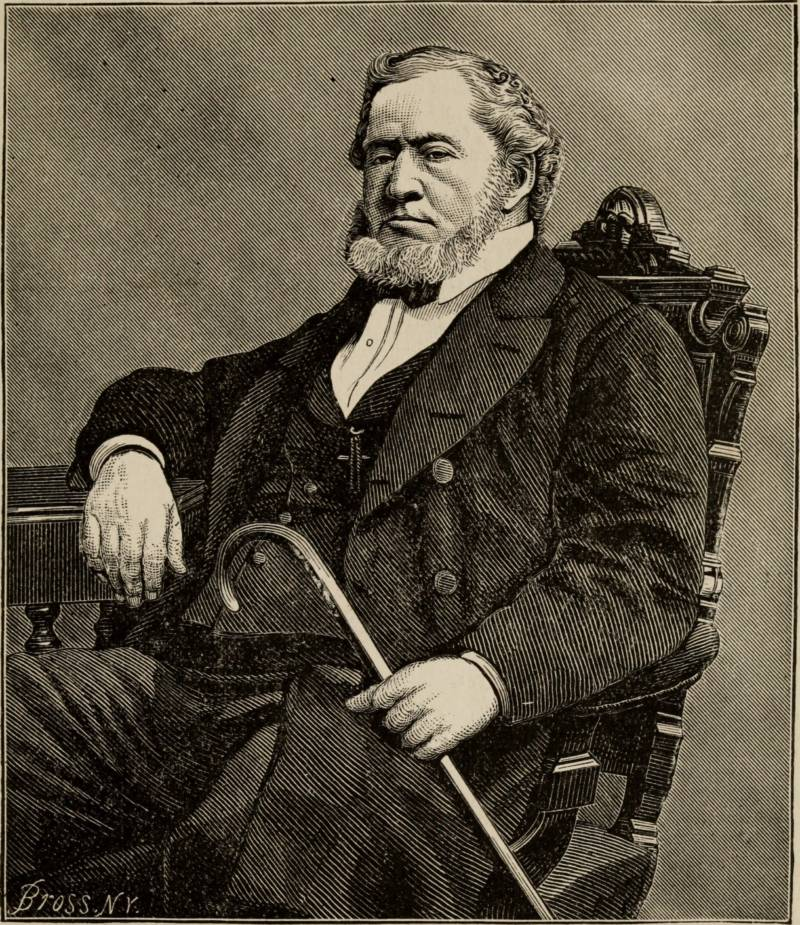 A Picture Of Brigham Young