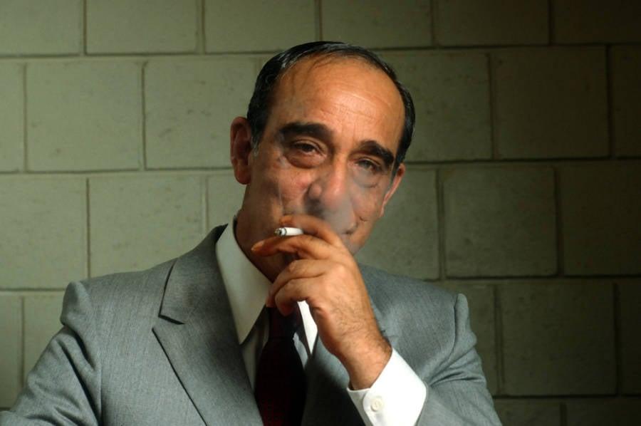 Carmine Persico Smoking