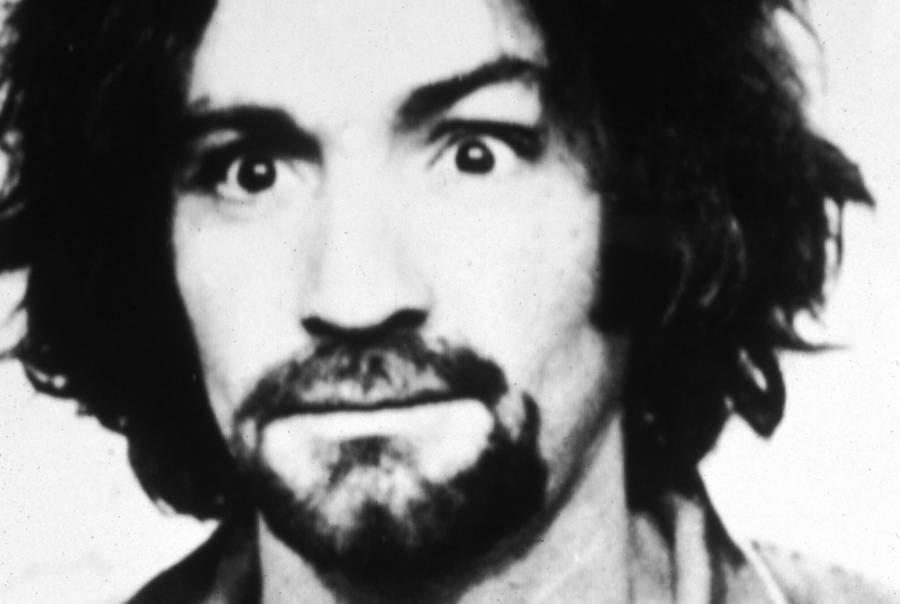 Charles Manson's Mugshot