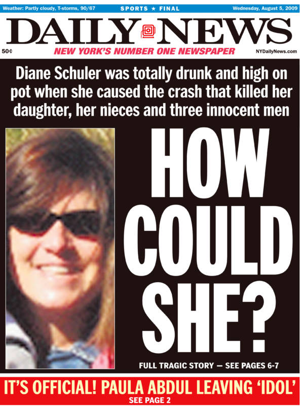 Diane Schuler Tabloid Photo
