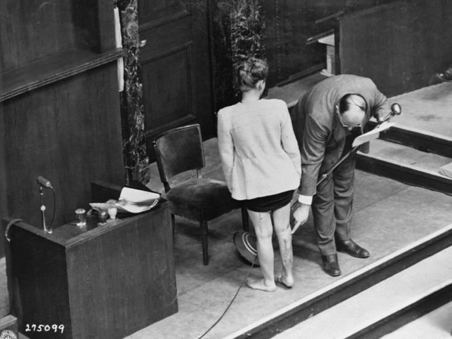 Leo Alexander Testifies At Nuremberg Trials