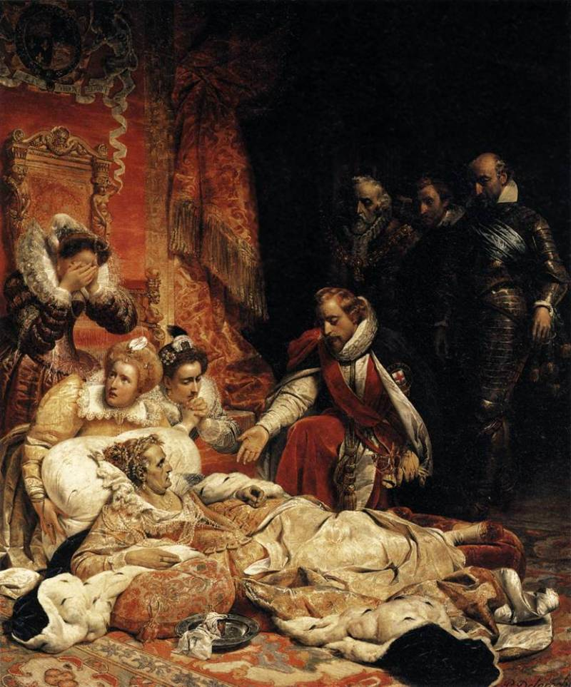 Death Of Elizabeth I