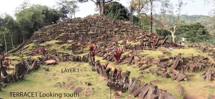 Gunung Padang Pyramid Indonesia
