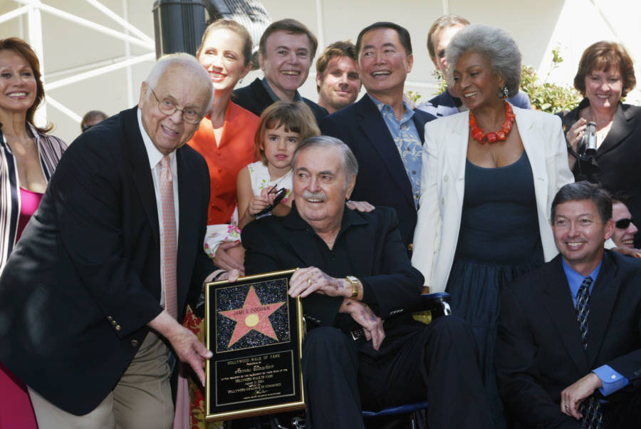 James Doohan In Hollywood