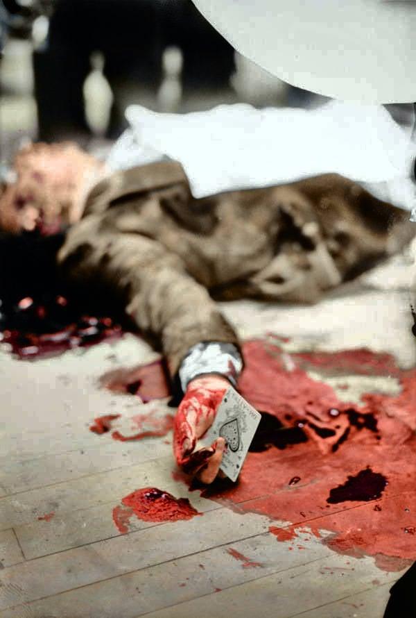 Joe Masseria Murder Scene