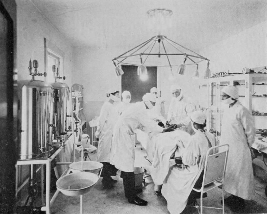 John Brinkley In The Operating Room