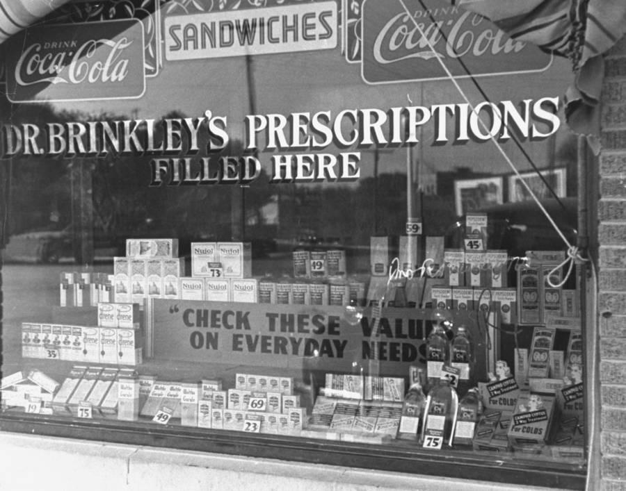 John Brinkley Prescriptions