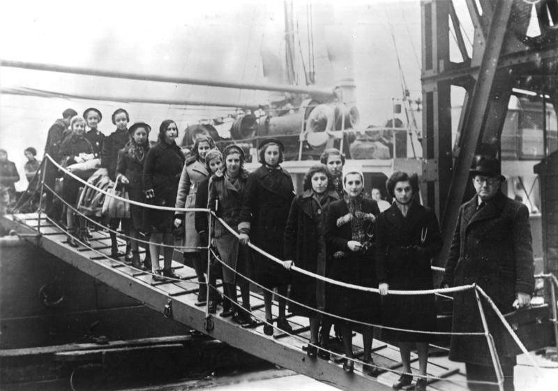 Kindertransport Ship