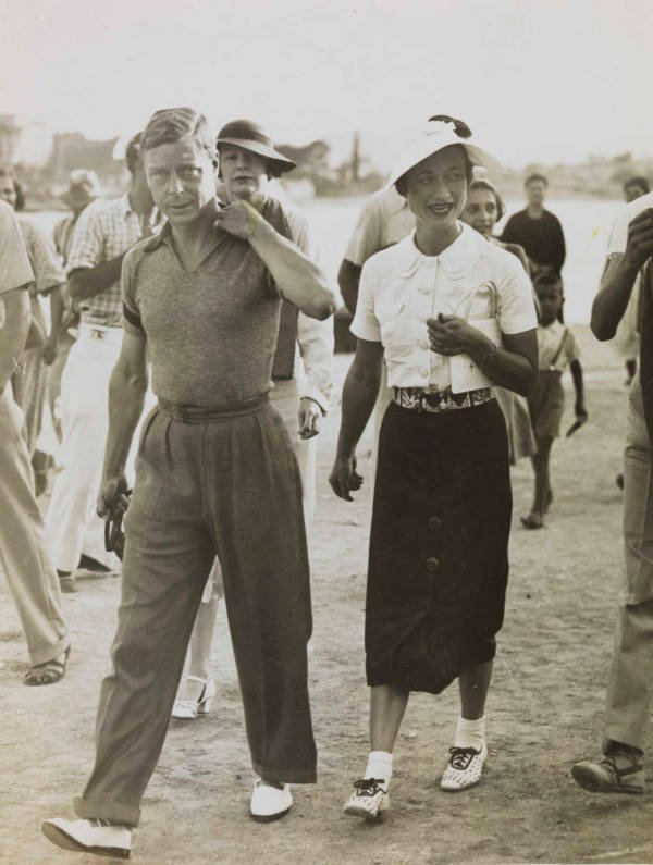 King Edward And Wife Wallis Simpson