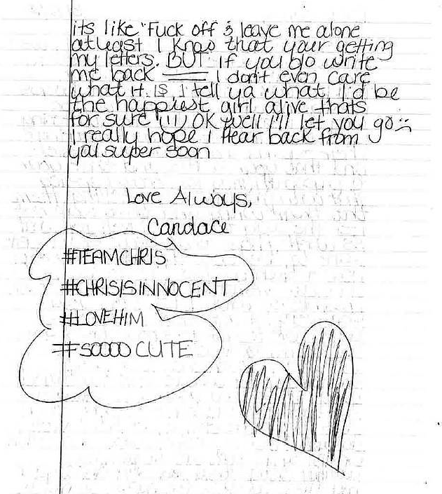 Love Letter To Chris Watts