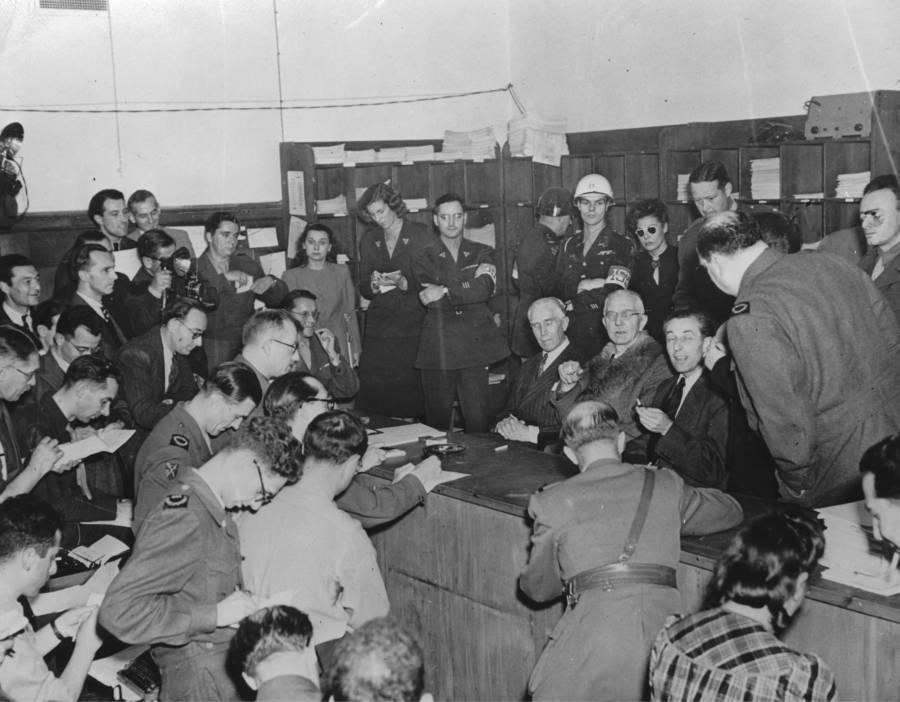 Nazi War Criminals Acquitted