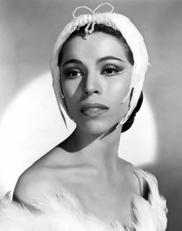 Maria Tallchief In Costume