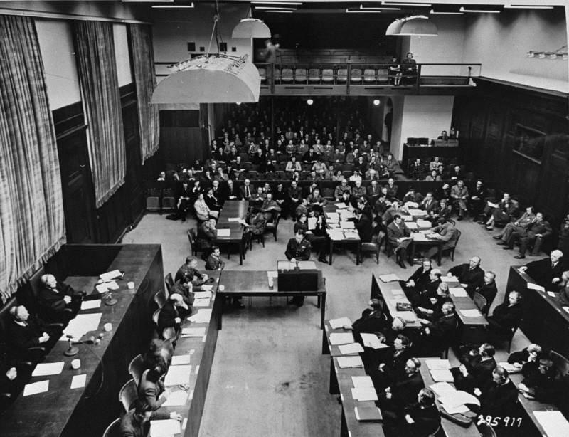 Ministers Trial At Nuremberg