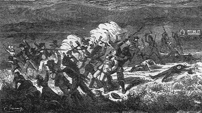 The Paiutes Engaged In The Mountain Meadows Massacre