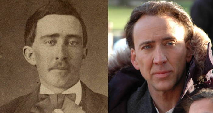 33 Celebrities And Their Eerily Similar Historical Doppelgängers