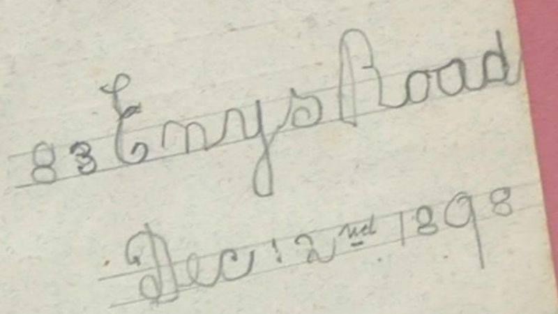 Old Santa Letter Date