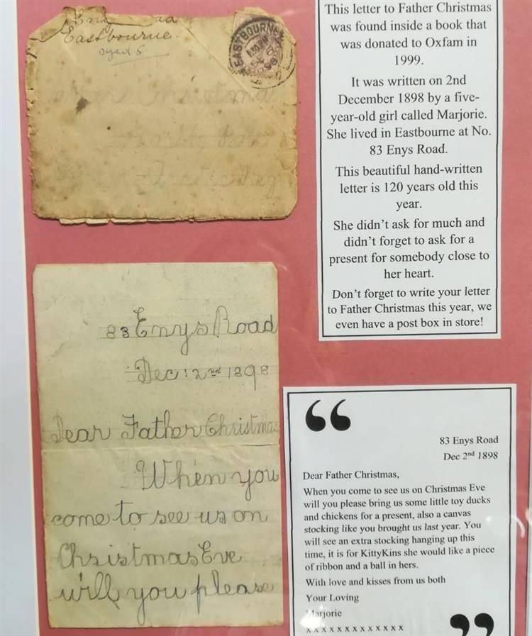Santa Letter Display