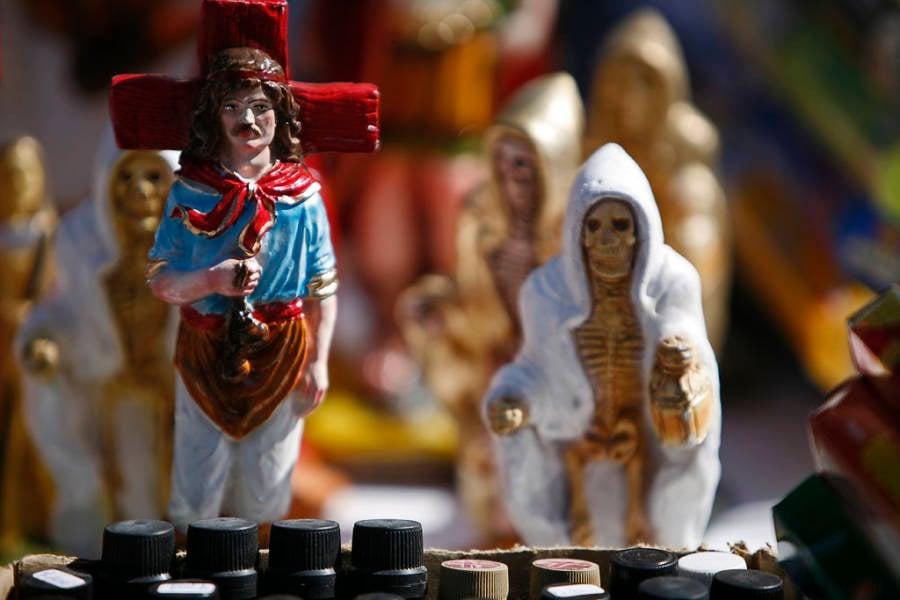 Santa Muerte Figurine