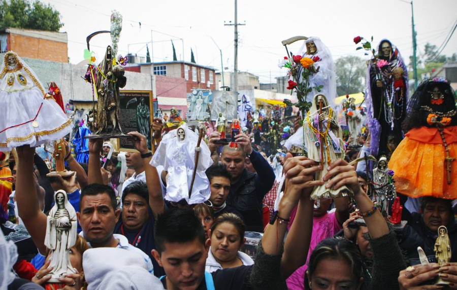 Santa Muerte Parade