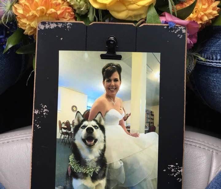 Sierra And Herfel At Wedding