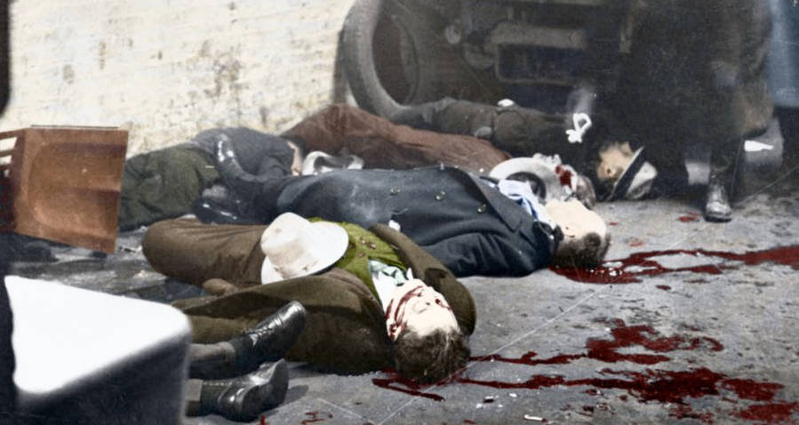 31 Vintage Crime Scene Photos Brought To Life In Stunning Color