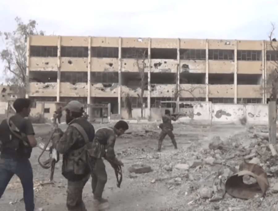 Syrian Army Fighting