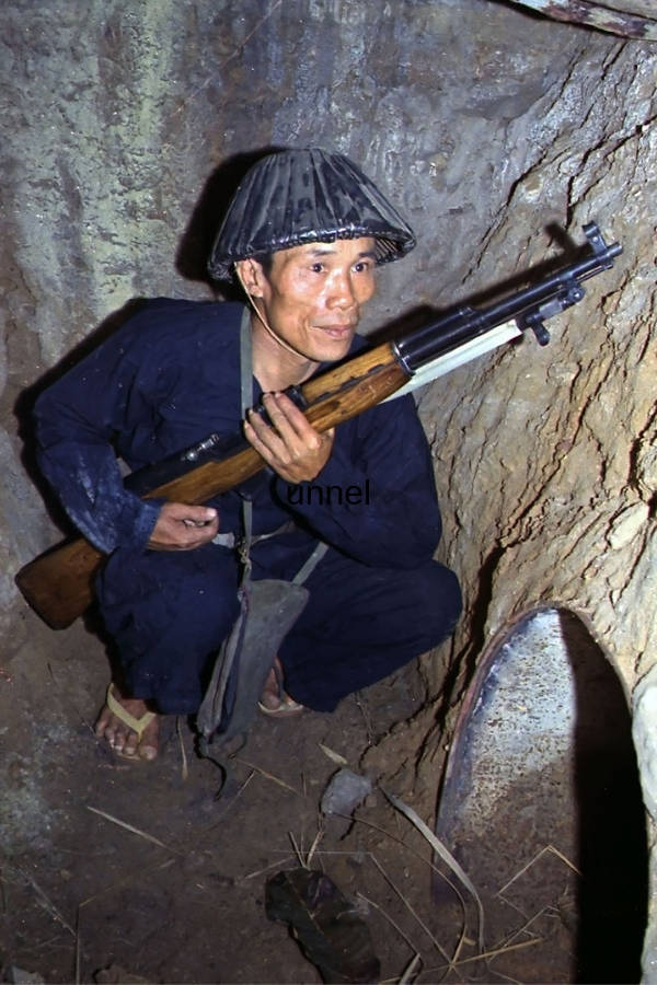 Viet Cong Tunnel