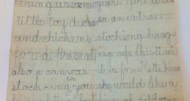 Remarkable 120-Year-Old Letter To Santa Discovered In England
