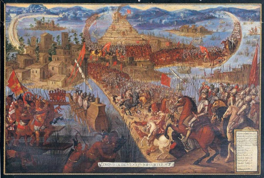 Conquest Of Tenochtitlan