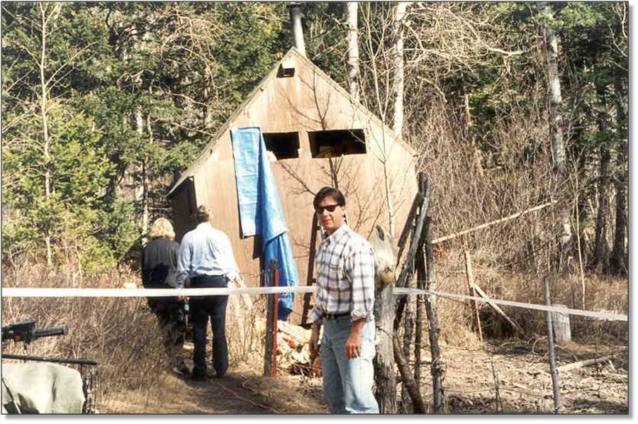 Fitzgerald Unabomber Cabin