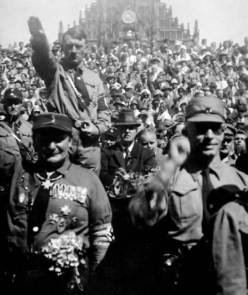 Hitler With Sturmabteilung